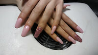 ***New Client Special Full Set or Fill W/Gel Colour For $35***