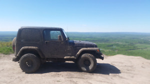 Jeep tj for trade for truck