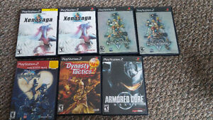 Very cool PS2 games.   Couple doubles