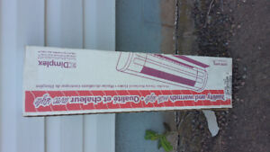 Several new electric baseboard heaters for sale