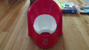 All you need for potty training, Baby signs potty