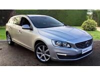 2015 Volvo V60 D4 181 SE Nav Auto with Senus Automatic Diesel Estate