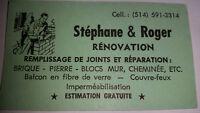 ENTREPRENEURS : STÉPHANE & ROGER