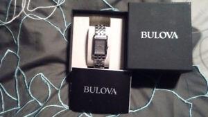 New in box.... Bulova ladies watch