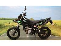 Yamaha WR125 X 2012** Monster Sticker Kit, Service History