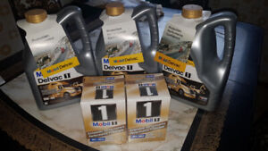 Diesel Synthetic motor oil Mobil 1 and filters for sale
