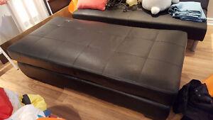 Ottoman and futon