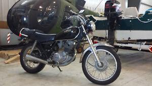 1982 Yamaha sr250 motorcycle