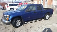 2005 GMC Canyon SLE Pickup truck crewcab very good condition