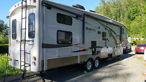 4 bunk Montana 5th wheel with lots of options (sleeps up to 8)