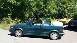 1992 VW Cabriolet for sale or trade