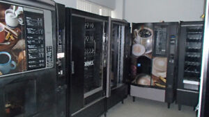 REFURBISHED VENDING MACHINES