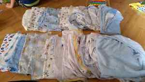baby socks, shoes, bibs, slippers, hats, receiving blankets Cambridge Kitchener Area image 2