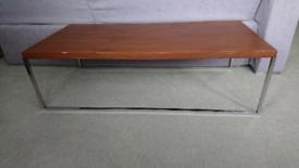FREE Walnut veneer neer coffee table with metal legs
