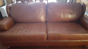 Leather Couch - Like New!