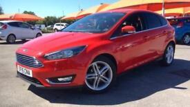 2015 Ford Focus 1.0 EcoBoost 125 Titanium 5dr Manual Petrol Hatchback