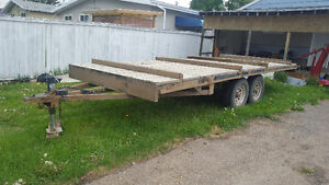 18ft flat deck trailers for sale!