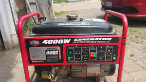 Looking to trade 4000W generator