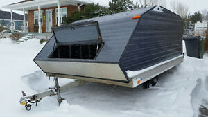 Double Wide Snowmobile Trailer