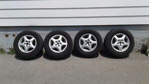 P215/70R15 tires and rims