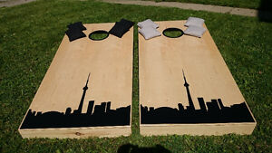 Beanbag Toss Game, Hand Crafted in Canada Cambridge Kitchener Area image 2