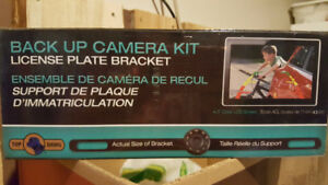 Back up camera kit - NEW