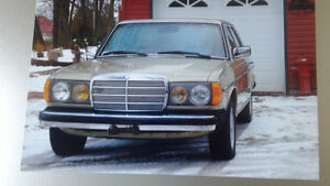 1985 300 Turbo Diesel Mercedes