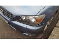 Lexus is200 headlight facelift dark inside head lamp near passenger side 98-05 breaking spare is 200