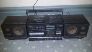 Sanyo PH-WCD800 CD Boombox - very rare