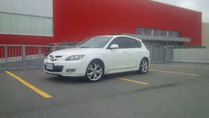 PRICE DROP - 2008 Mazda3 Sport GT Hatchback with leather