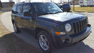 2008 Jeep Patriot 4x4 Sunroof