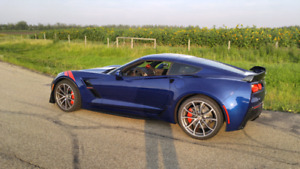 2017 Corvette Grandsport coupe- as new