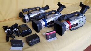 Cannon GL2 Video Camera 3CCD Digital NTSC (3 Cameras for sell)