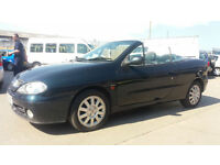 2001 51 RENAULT MEGANE CABRIOLET 1.6 16V PRIVILEDGE.LONG MOT.PX BARGAIN,GREATMPG