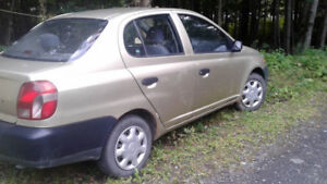 2001 Toyota Echo Berline