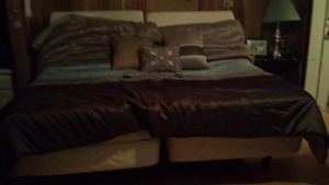 *■■**MOVING SALE!***■■* TEMPUR-PEDIC MASSAGE&LIFT KING BED&FRAME