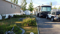 RV Lot for weekly rent at Gleniffer Lake