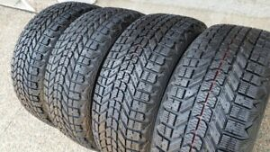 FIRESTONE WINTERFORCE 215/55R/16 WITH 10/32NDS TREAD