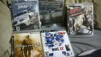 PS3 Games + Paddle