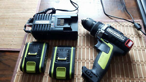 Rockwell Drill batteries and charger