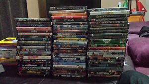 Over 100 dvds  $5 each!