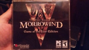 GOTY Morrowind for PC