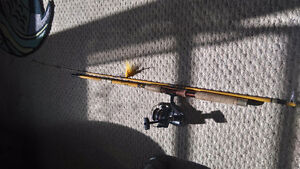 Eagle claw Wright and McGill 7foot rod.