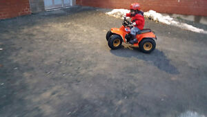 Looking for 50cc kids quads running or not.