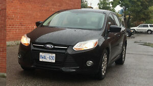 2012 Ford Focus  Low km 88000 Certified Etested