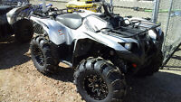 2015 Yamaha Grizzly 700 SE 4X4 EFI Power Steering, CLEARANCE!!
