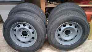 Michelin 215/70R16 snow tires
