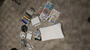 Wii with insane amount of accessories