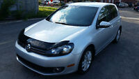 2011 Volkswagen Golf TDI,6 SPEED STANDARD!
