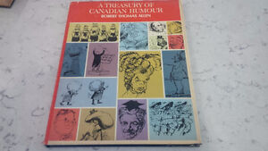 A Treasury of Canadian Humour, Robert Thomas Allen, 1967 Kitchener / Waterloo Kitchener Area image 1